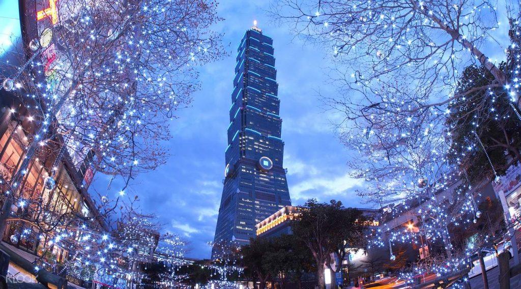 Vé đài quan sát tháp Taipei 101