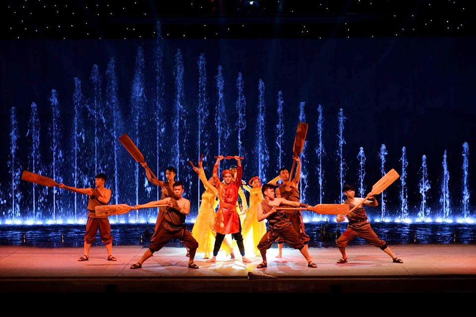 Vé xem show huyền thoại làng chài Phan Thiết - Fishermen show