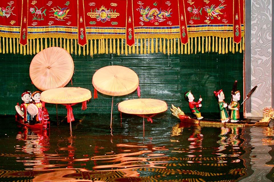 Vé xem múa rối nước tại nhà hát Rồng Vàng, TP.Hồ Chí Minh